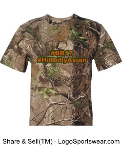Adult Realtree Camouflage Short Sleeve T-shirt by Code V Design Zoom