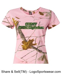 Ladies Realtree Camouflage T-Shirt by Code V Design Zoom